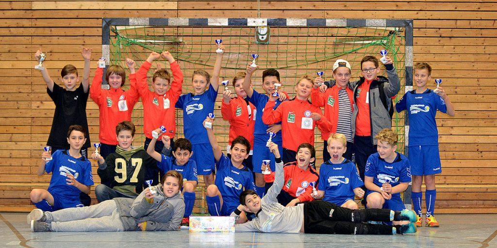 Platz 5 und Platz 7 für den JFV Kieler Förde