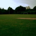 Der Bolzplatz, auch Trainingsplatz